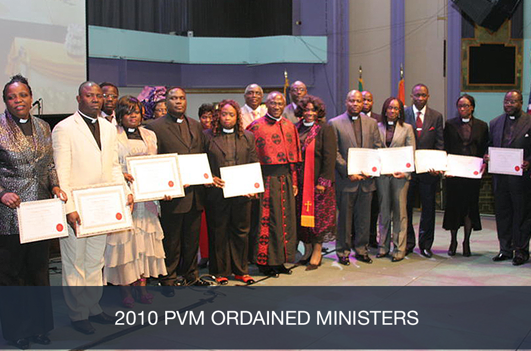 2010 PVM Ordained Ministers