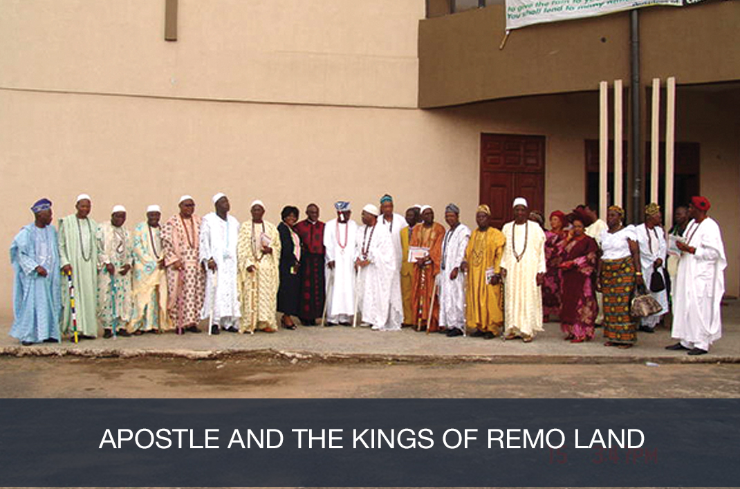Apostle and the Kings of Remo Land