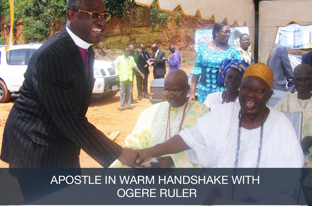 Apostle with Ogere Ruler
