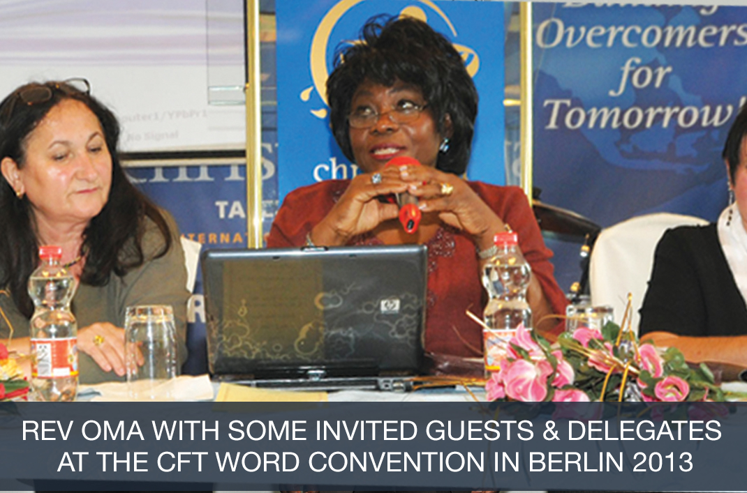 Rev Oma at WORD Convention